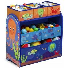 Žaislų komoda - lentyna Ocean