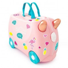 Trunki lagaminas Flossi the Flamingo