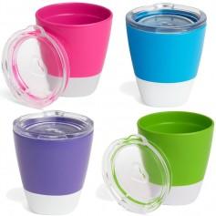Munchkin puodelis su dangteliu Splash, 2 vnt.