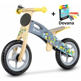 Balansinis dviratukas Grey Mosaic + DOVANA
