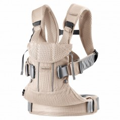 Babybjorn nešioklė ONE AIR Pearly Pink Mesh