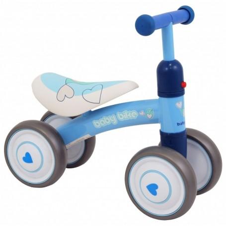 Mini paspirtukas - dviratukas Baby Bike Blue