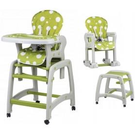Maitinimo kėdutė-transformeris Circle su lingėmis