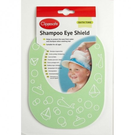 Akyčių apsauga nuo šampūno