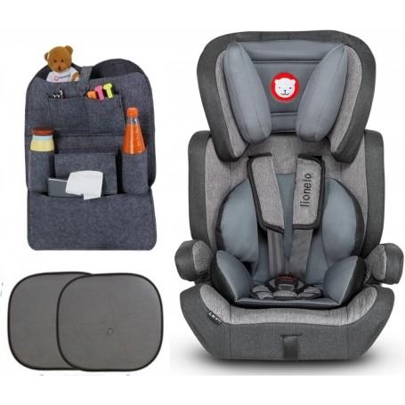 Automobilinė kėdutė Levi Modern Grey 9-36 kg + Dovana