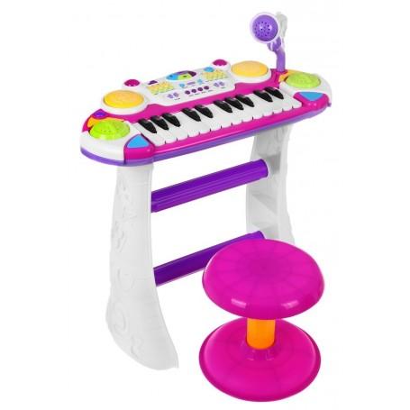 Vaikiškas pianinas su kedute