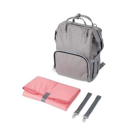 Mamos krepšys - kuprinė Canpol Babies Grey