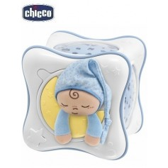 CHICCO Rainbow Cube projektorius (spalva - blue)