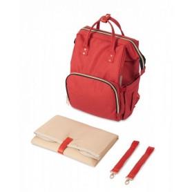 Mamos krepšys - kuprinė Canpol Babies Red
