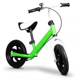 Metalinis balansinis dviratukas MultiGreen su stabdžiu