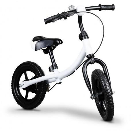 Balansinis dviratukas su stabdžiu Funny White