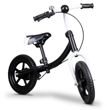 Balansinis dviratukas su stabdžiu Funny Black