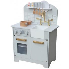 Medinė vaikiška virtuvėlė Deluxe