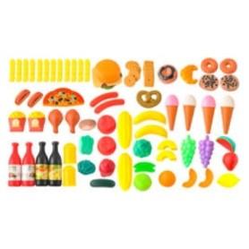Žaislinis maisto rinkinys (90 vnt.)