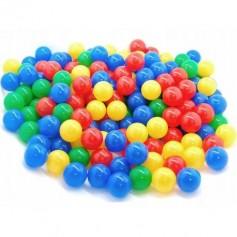 Plastikiniai kamuoliukai 100 vnt.