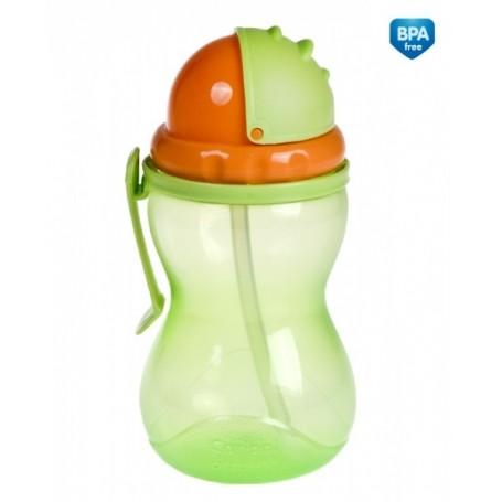 Canpol Babies gertuvė su šiaudeliu, 370 ml.