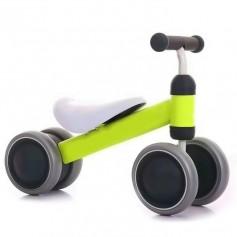 Mini paspirtukas - dviratukas First Bike Green