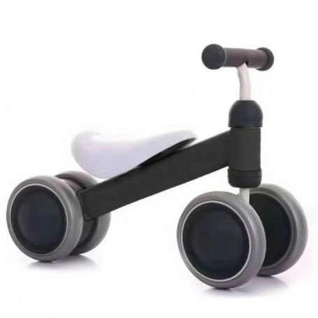 Mini paspirtukas - dviratukas First Bike Black