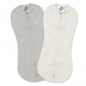 Vystyklas-kokonas Summer Infant Pod Grey/White