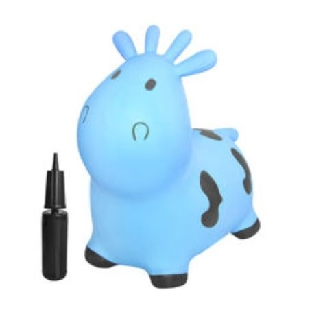 Žaislinė karvutė šokinėjimui