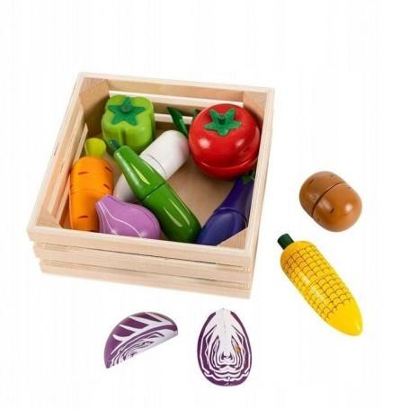 Pjaustomų daržovių rinkinys dėžutėje Multi