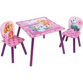 Worlds Apart staliukas su kėdutėmis Paw Patrol