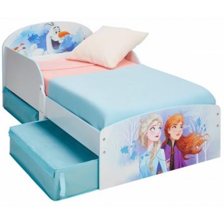 Vaikiška lova 140x70 cm. Frozen su stalčiais