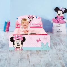 Vaikiška lovytė Disney Minnie 140x70 cm.