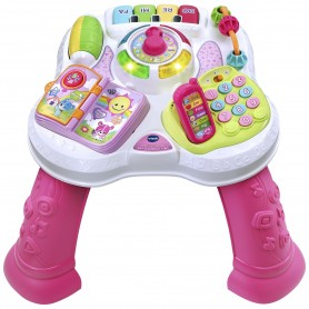 Lavinamasis staliukas Vtech Learn and Play Pink