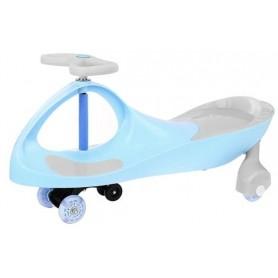 Svingis riedamobilis su LED ratukais Blue