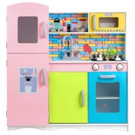 Vaikiška medinė virtuvėlė XXL