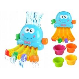 Vonios žaislas Aštuonkojis-Krioklys su indeliais