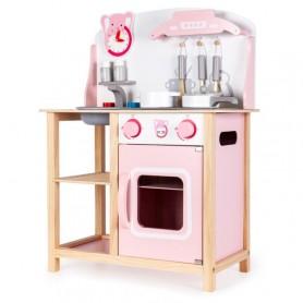 Medinė vaikiška virtuvėlė su garsais Pinky