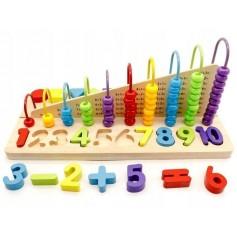Medinis ergoterapinis žaislas - skaitliukai Multi