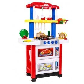 Virtuvėlė su garsais ir švieselėmis Red