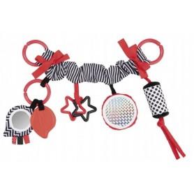 Pakabinamas kontrastinis žaislas Sensory