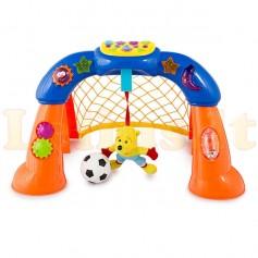 Futbolo vartai su garsais