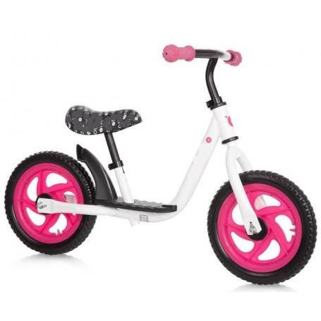 Dviratukas be pedalų Sparky Pink