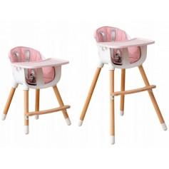Maitinimo kėdutė Multi Pink 2in1