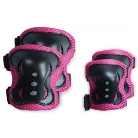 Alkūnių ir kelių apsaugos Pink