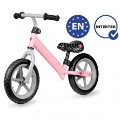Balansinis dviratukas be pedalų Pink Heart