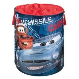 Disney apvalus žaislų krepšys Pop Up Cars