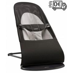 BabyBjorn gultukas Soft Mesh (spalva - black/grey)