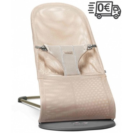 BabyBjorn gultukas Bliss Pearly Pink Mesh