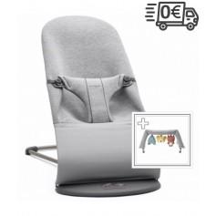 BabyBjorn  gultukas Soft 3D Jersey (spalva - light grey)