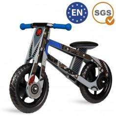Medinis balansinis dviratukas CrossKid