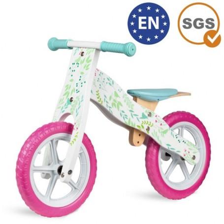 Medinis balansinis dviratukas Light Pink