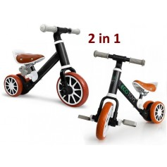 Balansinis dviratukas - paspirtukas su pedalais LuxuryBlack