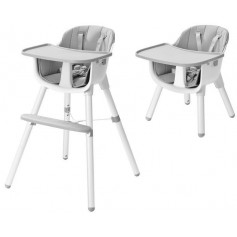 Maitinimo kėdutė Grey-White  2in1