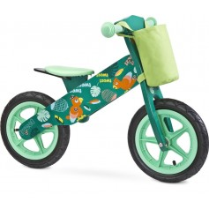 Medinis balansinis dviratukas ZAP Green